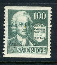1938 Sweden stamp: 250th Anniv of the Birth of Emanuel Swedenborg; MNG  CV=$10