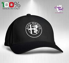 Cappello Berretto Hat Cappellino Houston 5 pannelli NERO - ALFA ROMEO