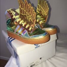 100% authentic Adidas x Jeremy Scott Wings Obyo Red Flower
