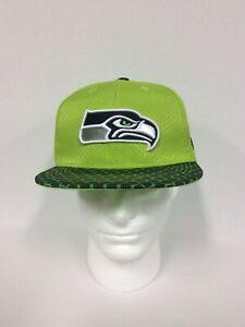 Seattle Seahawks Hat NFL Sideline On Field Home Snapback