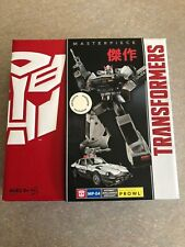 TRANSFORMERS G1 MASTERPIECE PROWL FIGURE AUTOBOT HASBRO TRU EXCLUSIVE