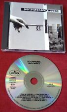 Scorpions CRAZY WORLD 1990 GERMANY CD COMME NEUF! RARE CLUB EDITION Wind of change