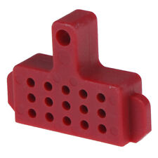 Plastic hydraulic disc brake bleed spacer block tool for hydraulic brake   WD