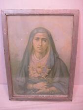 OLD LA DOLOROSA DEL COLEGIO DE SAN GABRIEL EN QUITO RELIGIOUS PICTURE