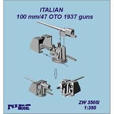 100mm /47 Italian OTO gun 1937 x 5