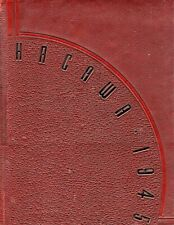 """1945 """"Hacawa"""" with NAMES! - Lenoir Rhyne College Yearbook - Hickory, NC +"""