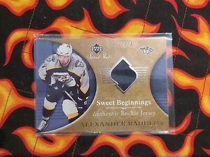 Nhl 06-07 alexander radulov sweet beginnings rookie card 307/499 🔥 dallas stars