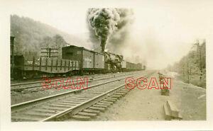 1C004 RP 1949 BALTIMORE & OHIO RAILROAD 0-8-8-0 LOCO #70?? M&K JCT WV