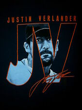 JUSTIN VERLANDER DETROIT TIGERS T SHIRT Cy Young Ace Starting Pitcher JV