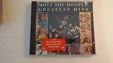 Mott the Hoople - Greatest Hits Mott the Hoople MUSIC CD