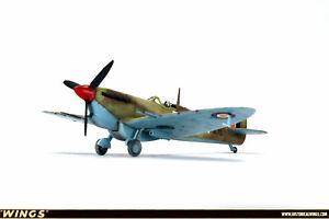 1:72 Pro Built Airplane Model RAF Fighter Spitfire Mk.Vc