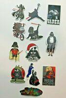 Adult Humor Star Wars Darth Vader Decal Car Guitar Skateboard- Your Choice!5D