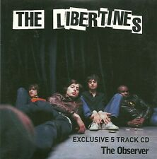 CD Single    THE LIBERTINES    Exclusive 5 Track CD: The Observer     NEW / MINT