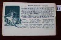 Postkarte Musik Bleib´n mr noch a weng do