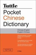 Tuttle Pocket Chinese Dictionary, Dong, Li, Good Book