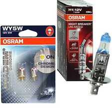 OSRAM NIGHT BREAKER UNLIMITED H1 110% diadema cromo WY5W bombilla