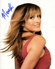 MARISKA HARGITAY signed autographed 11x14 photo LAW & ORDER: SVU (1)