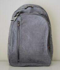 "NWT Adidas ""Leather Basic"" Grey Back Pack XL"