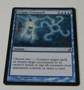 Cryptic Command-Lorwyn-MTG-Rare-LIGHT PLAYED