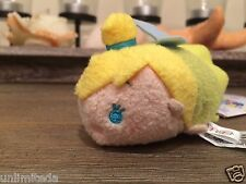 "Disney Store Peter Pan Tinker Bell Tinker Bell Mini Tsum Tsum 3.5"" Authentic NWT"