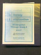 Leveled Literacy Intervention Fountas & Pinnell  LLI K-8 Workshop Materials