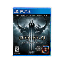 Diablo III Reaper Of Souls Ultimate Evil Edition (PlayStation 4, PS4)- FREE SHIP