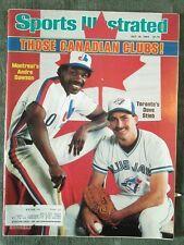 July 18, 1983 Sports Illustrated ANDRE DAWSON DAVE STLEB Toronto Blue Jays Expos