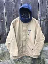 Vintage Woolrich Jacket Size XL Beige Navy wwm woolen mills Parka