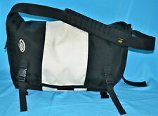 Timbuk2 CLASSIC LARGE Bag Messenger Black Nylon Computer Laptop Duffel Luggage