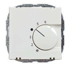 Raumtemperaturregler Reinweiß, passend f. Busch-Jäger Balance SI, Gira System 55