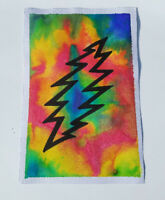 Watercolor painting. Grateful dead bold  psychedelic  Wall Art