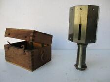 pantomètre;ancienne lunette de visée de géomètre