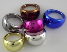Wholesale - Fashion Jewelry Color Rings 100 pcs Lots Mix