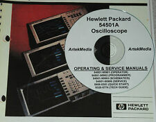 HP Hewlett Packard 54501A Operating & Service Manuals w/Schematics 6-volumes