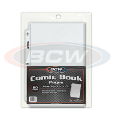 Comic Book Display and Storage Pages x 20 pack