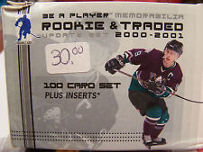 **NICE** 2000-2001 00-01 Be A Player Memorabilia Rookie And Traded 100 Plus