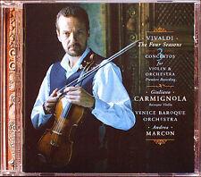 Giuliano CARMIGNOLA: VIVALDI Four Seasons Vier Jahrezeiten CD Andrea Marcon