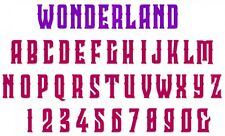 Sizzix Bigz XL Wonderland alphabet/number die #663110 MSRP $69.99 Tim Holtz