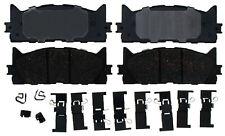 Disc Brake Pad Set-Ceramic Disc Brake Pad Front ACDelco Pro Brakes 17D1222CH