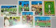 GUINEA 1979 858-64 A 782-88 Hafia Soccer Team triple Champions Fußball Football