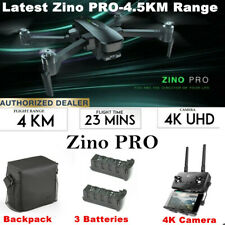 Hubsan Zino Pro 4.5KM vista en primera persona fodable Drone W/5G 4K Cámara HD +3Axis Batería Gimbal +3