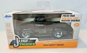 2015 Jada Toys Just Trucks 1953 Chevy Pickup black die cast 1:32