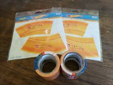 Hot Wheels Playtape Track & Curve Set 60 ft Tracks and 16 Curves Total