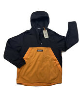 Men Timberland 100% authetnic Windbreakers size Medium Color Orange And Black