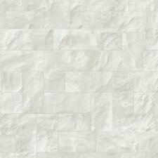 Vlies Tapete P+S Origin 42102-20 Steinfliesen Stein Klinker Weiß Grau