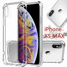 For iPhone 12 11 Pro Max Xr Xs 6 6s 8 7 Plus SE Mini CLEAR Case Shockproof Cover
