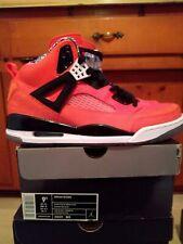Jordan Spizike Knicks Orange Blue White Size 9.5 DS