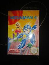 MEGA MAN 4* NES Nintendo mario kart* PAL Version*Sehr guter Zustand*TOP
