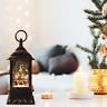 LED Water Spinner Glitter Snow Globe Lantern Christmas Tree Decoration Ornament