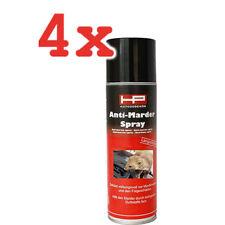 4x Anti-Marder Spray biologische Duftstoffe mardervertreibender Geruch 400 ml